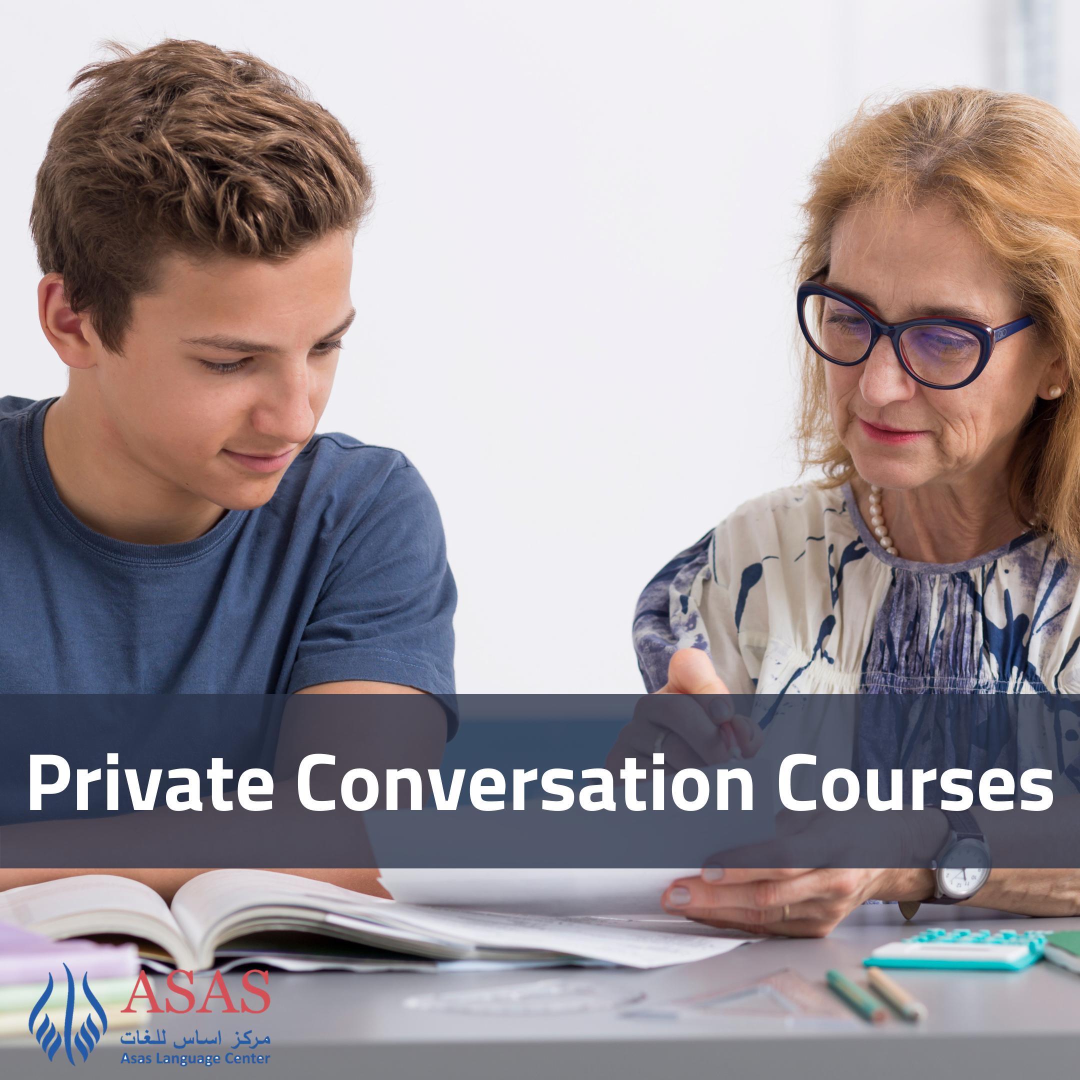 Private Conversation Courses