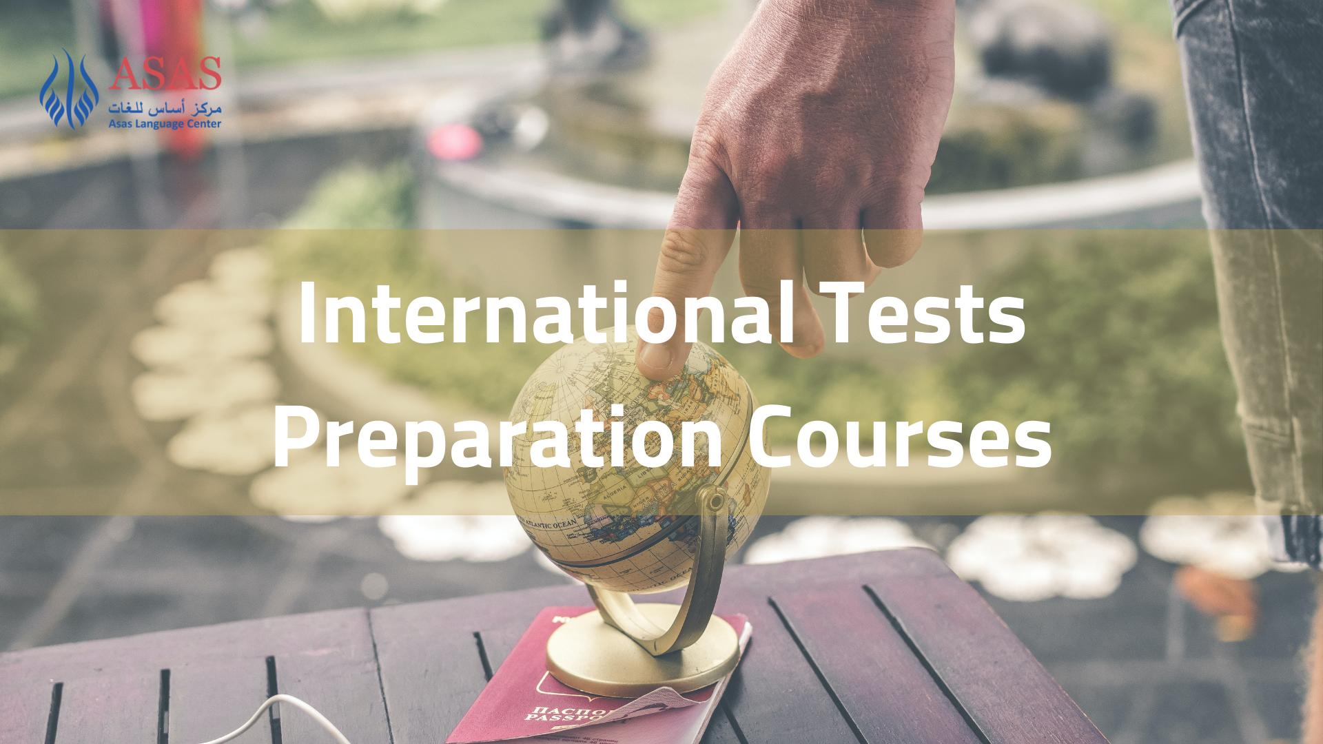 International Tests Preparation Courses